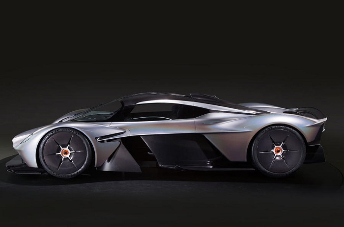 Aston Martin Valkyrie Revealed In Near Production Form Pictures