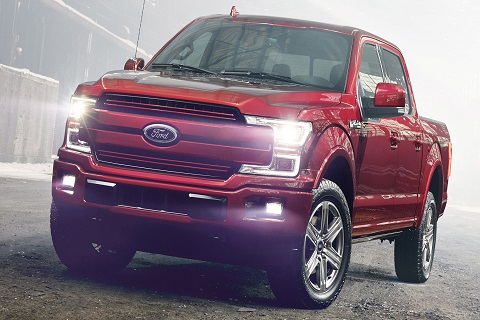 Ford F-150 Claims Best-In-Class Fuel Mileage, Towing Capacity