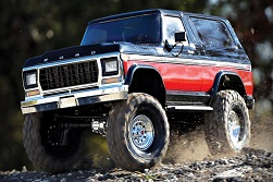 Traxxas Launches Retro R/C 1979 Ford Bronco Rock Crawler