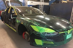 Utah Company Builds Bulletproof Tesla Model S P100D
