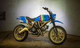 Custom Ducati Scrambler Going to Auction