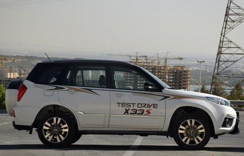 معرفی خودروی mvm x33 new مشخصات