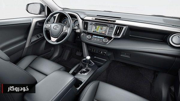 قیمت و مشخصات کامل تویوتا Rav4 مدل 2017