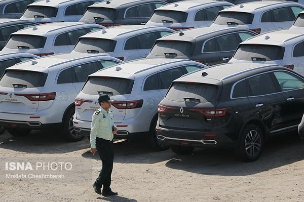 گزارش تصویری انهدام باند قاچاق و توقیف 424 خودرو خارجی در هرمزگان