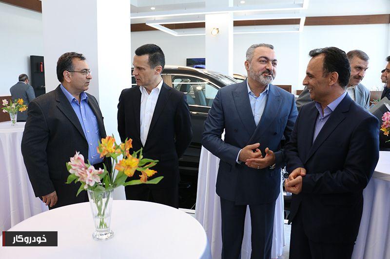 گزارش تصویری از افتتاح شوروم مرکزی بهمن موتور در تهران