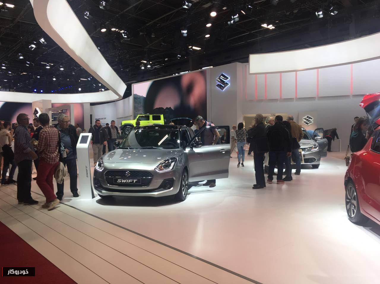 خودنمایی خودروهای جدید سوزوکی در نمایشگاه پاریس +تصاویر