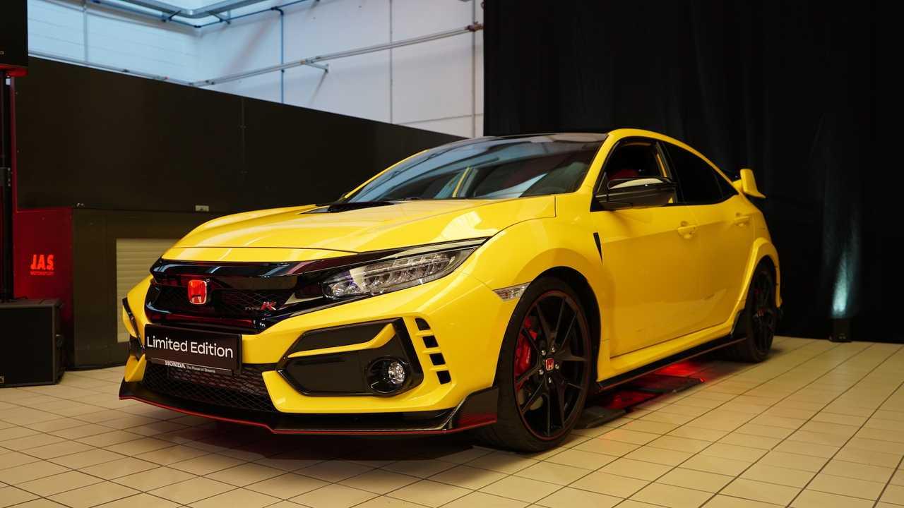 شتاب نسخه محدود Honda Civic Type R برای ثبت رکورد در Nürburgring