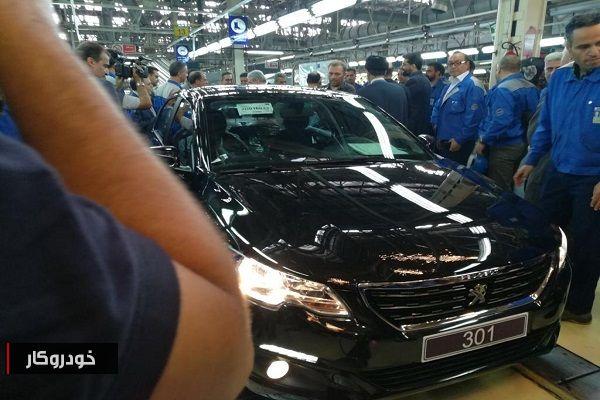 خط تولید پژو 301 افتتاح و راه اندازی شد+ تصاویر