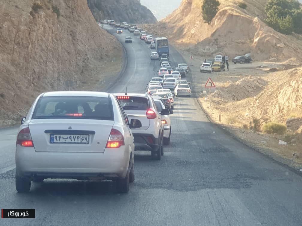 ترافیک در مرزها همچنان ادامه دارد+ تصاویر