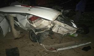 حادثه مرگبار برای رانا در محور صدرا-شهرک گلستان شیراز
