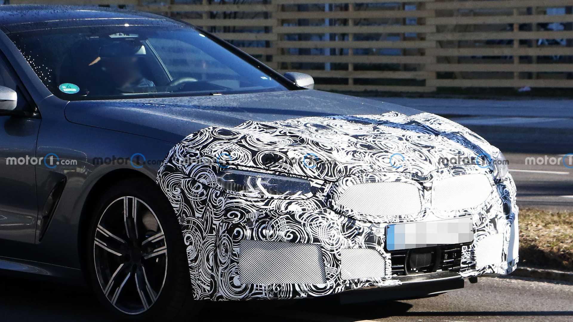 مدل به روز شده خودرو سری 8 شرکت BMW مشاهده شد